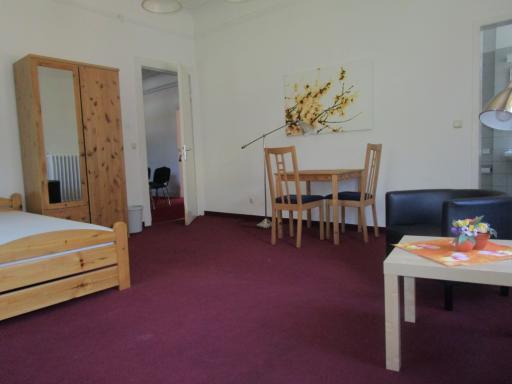 Zimmer für Teilnehmende